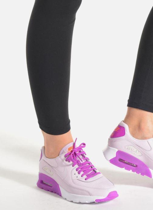 Baskets Nike W Air Max 90 Ultra Essential Violet vue bas / vue portée sac