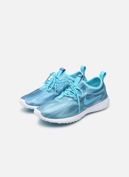 Deportivas Nike Wmns Nike Juvenate Print Azul vista de abajo