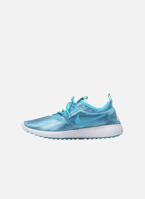 Baskets Nike Wmns Nike Juvenate Print Bleu vue face