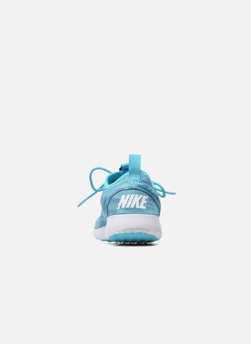 Deportivas Nike Wmns Nike Juvenate Print Azul vista lateral derecha