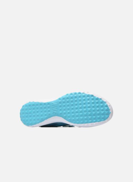 Baskets Nike Wmns Nike Juvenate Print Bleu vue haut