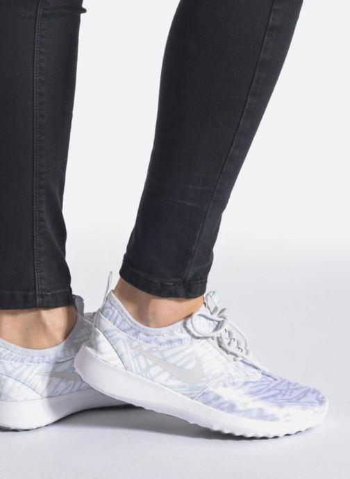 Baskets Nike Wmns Nike Juvenate Print Violet vue bas / vue portée sac