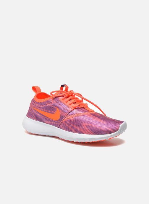 Baskets Nike Wmns Nike Juvenate Print Violet vue détail/paire