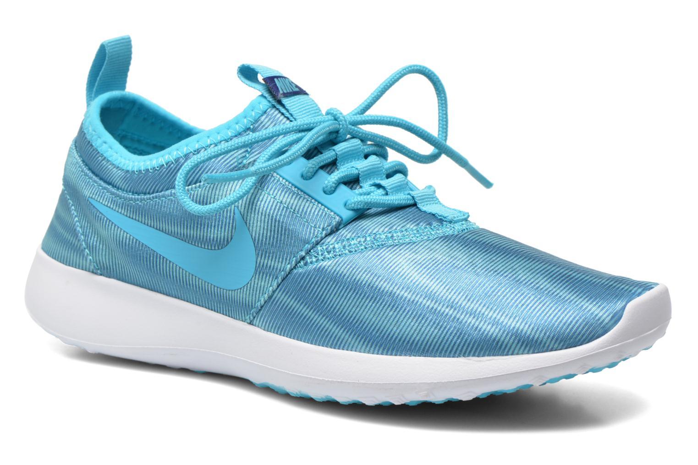 Baskets Nike Wmns Nike Juvenate Print Bleu vue détail/paire