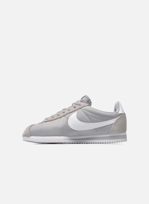 Sneaker Nike Classic Cortez Nylon grau ansicht von vorne