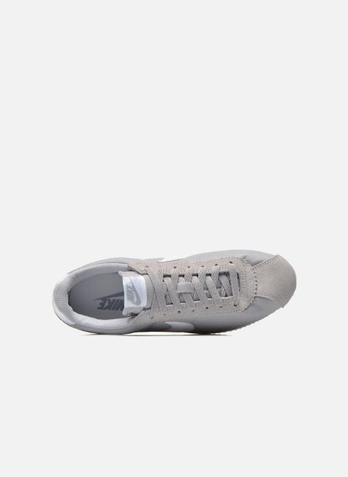 Sneaker Nike Classic Cortez Nylon grau ansicht von links