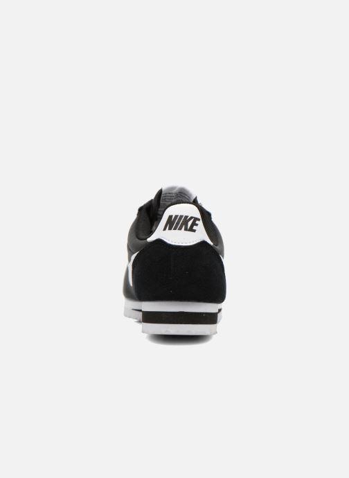 Deportivas Nike Classic Cortez Nylon Negro vista lateral derecha