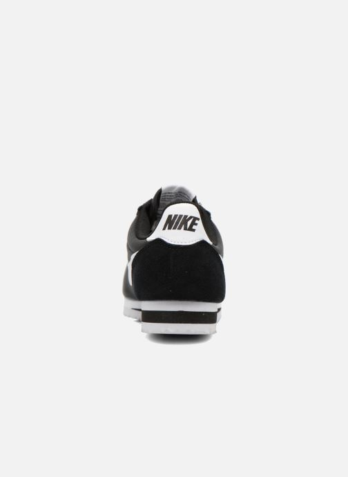 Trainers Nike Classic Cortez Nylon Black view from the right