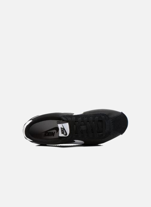 Deportivas Nike Classic Cortez Nylon Negro vista lateral izquierda