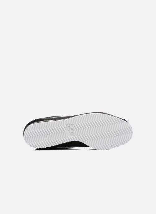 Deportivas Nike Classic Cortez Nylon Negro vista de arriba