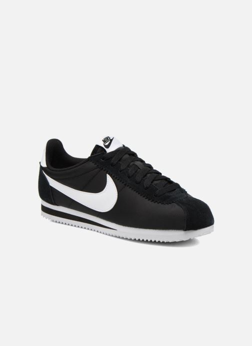 Sneakers Nike Classic Cortez Nylon Sort detaljeret billede af skoene