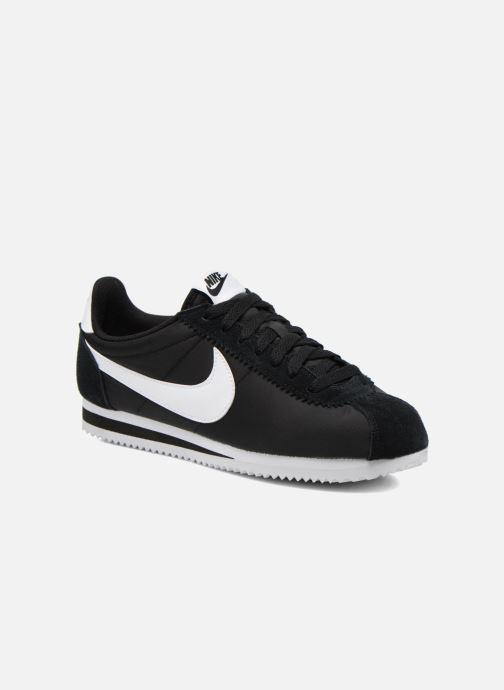 Deportivas Nike Classic Cortez Nylon Negro vista de detalle / par