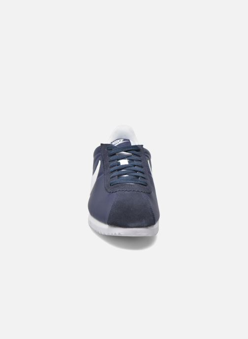 Trainers Nike Classic Cortez Nylon Blue model view