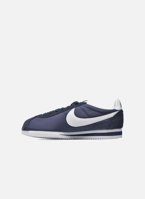Baskets Nike Classic Cortez Nylon Bleu vue face