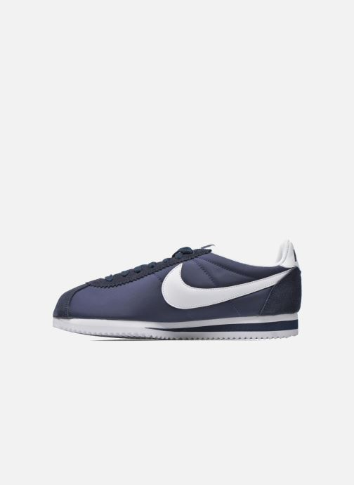 Trainers Nike Classic Cortez Nylon Blue front view