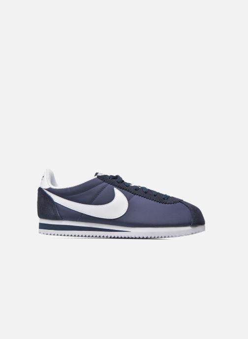 Deportivas Nike Classic Cortez Nylon Azul vistra trasera