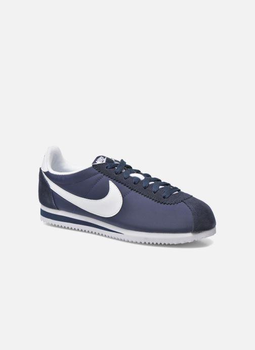 Deportivas Nike Classic Cortez Nylon Azul vista de detalle / par