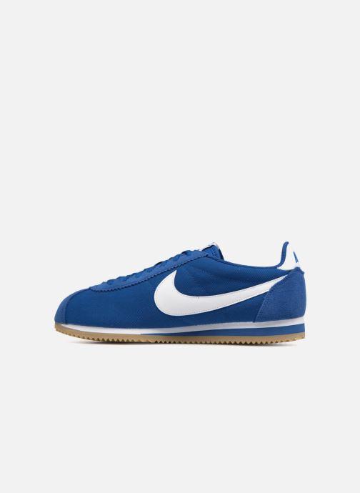 Light Cortez Nylon Classic white Blue Gym gum Nike Baskets Brown my0nwvN8OP