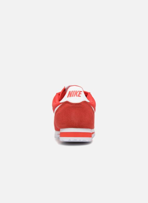 Sneaker Nike Classic Cortez Nylon rot ansicht von rechts