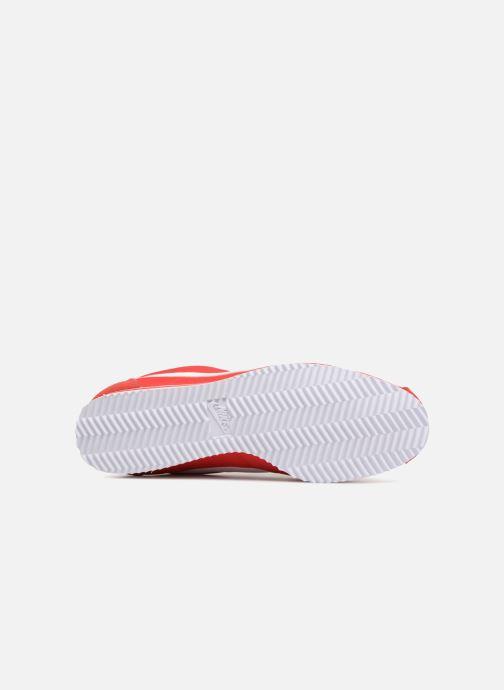 Baskets Nike Classic Cortez Nylon Rouge vue haut