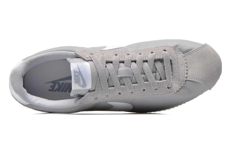 Baskets Nike Classic Cortez Nylon Gris vue gauche