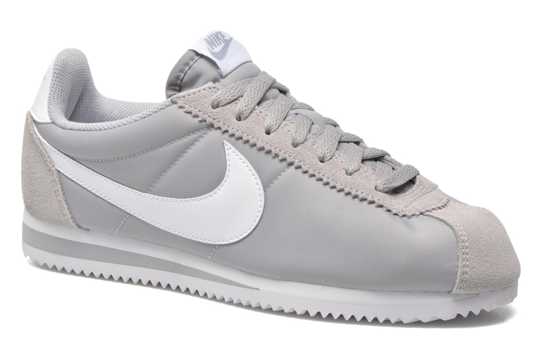 sale retailer c38a3 6531c ... shopping baskets nike classic cortez nylon gris vue détail paire 9a16d  84096