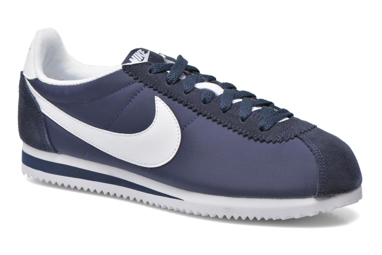 e755e7d4f88 ... cheapest sneakers nike classic cortez nylon blå detaljeret billede af  skoene d25fc 82eb1 ...