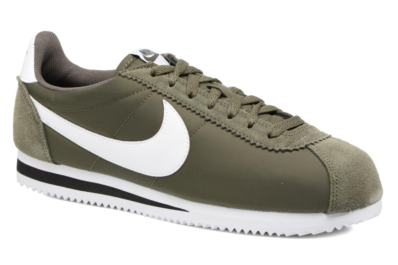 Deportivas Nike Classic Cortez Nylon Verde vista de detalle / par