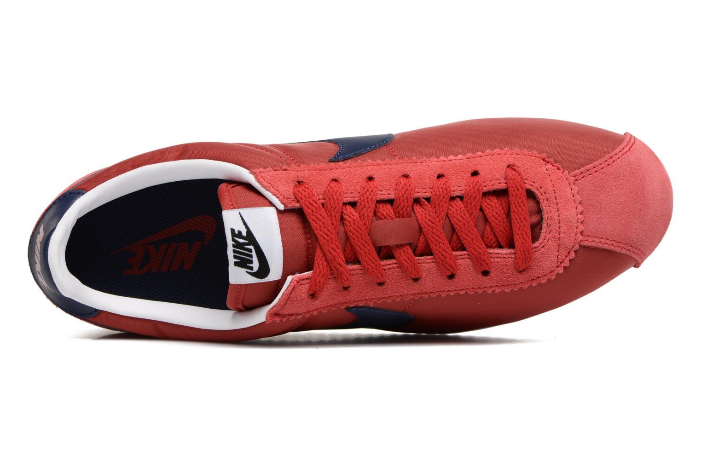 Baskets Nike Classic Cortez Nylon Rouge vue gauche