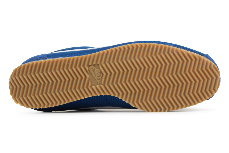 Deportivas Nike Classic Cortez Nylon Azul vista de arriba