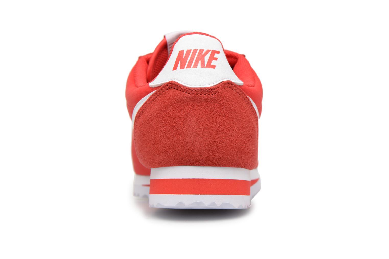 Baskets Nike Classic Cortez Nylon Rouge vue droite