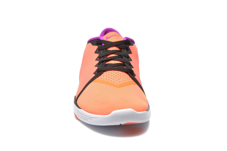 Chaussures de sport Nike Wmns Nike Lunar Sculpt Orange vue portées chaussures