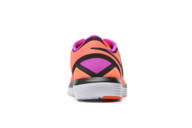 Chaussures de sport Nike Wmns Nike Lunar Sculpt Orange vue droite