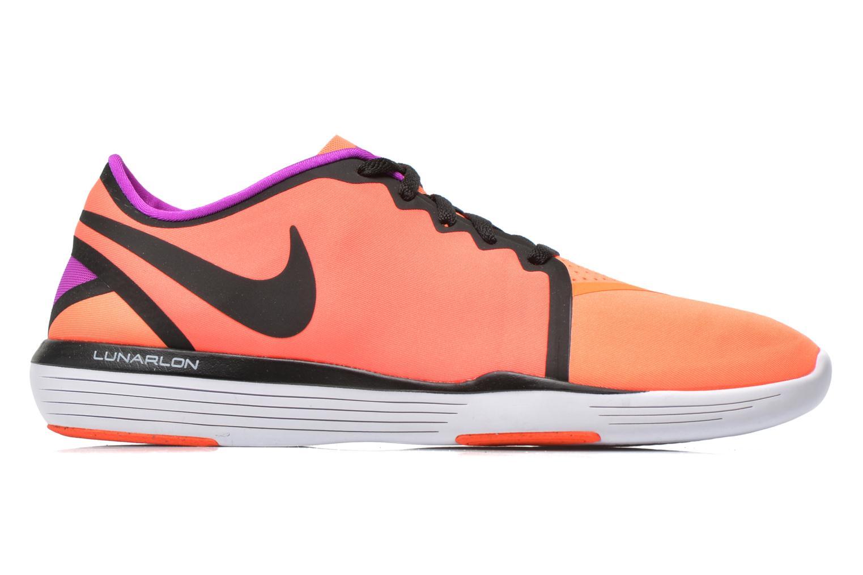 Chaussures de sport Nike Wmns Nike Lunar Sculpt Orange vue derrière