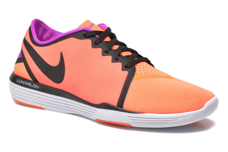 Chaussures de sport Nike Wmns Nike Lunar Sculpt Orange vue détail/paire