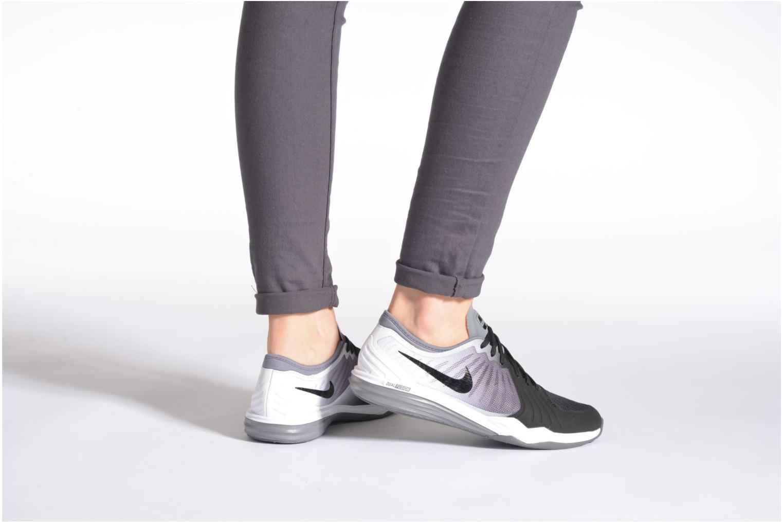 Chaussures de sport Nike W Nike Dual Fusion Tr 4 Print Rose vue bas / vue portée sac
