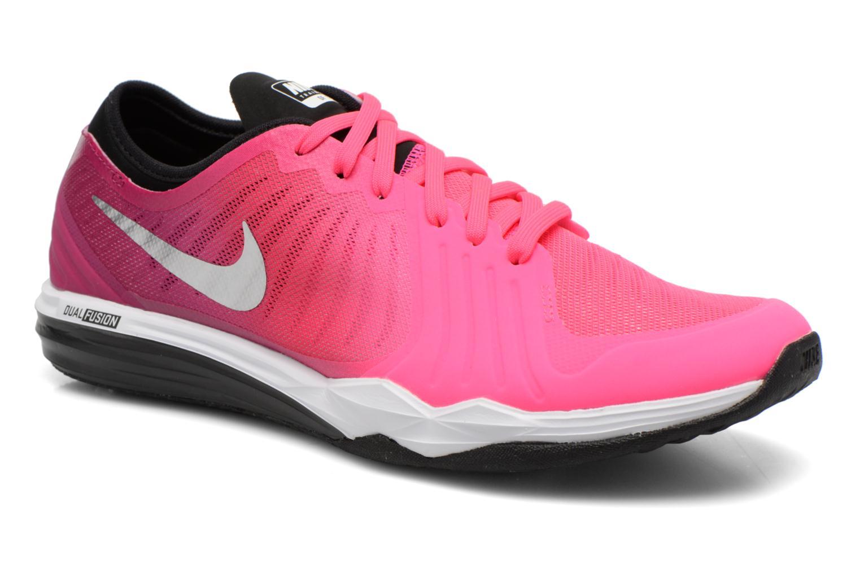Chaussures de sport Nike W Nike Dual Fusion Tr 4 Print Rose vue détail/paire