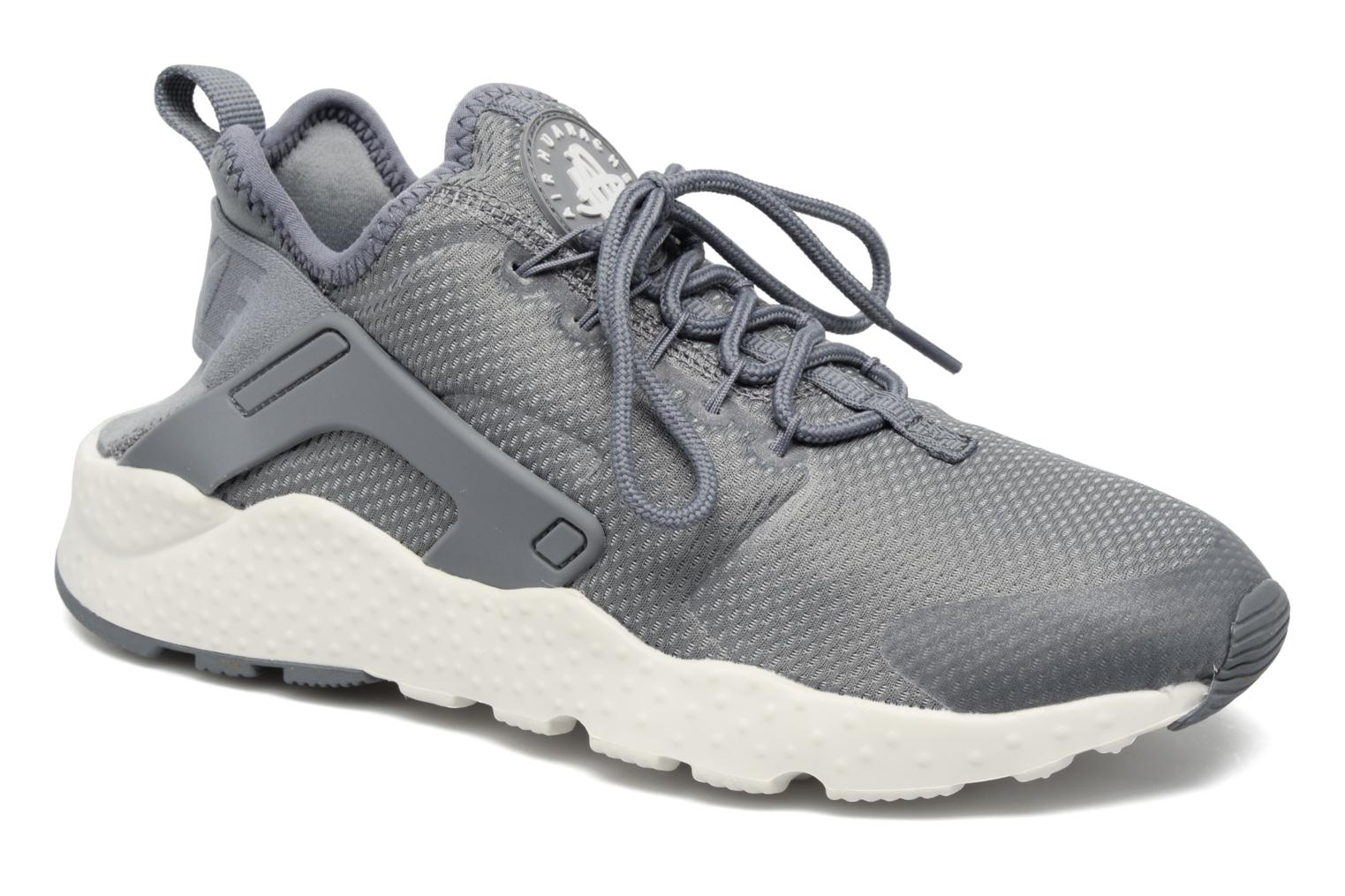 Baskets Nike W Air Huarache Run Ultra Gris vue détail/paire