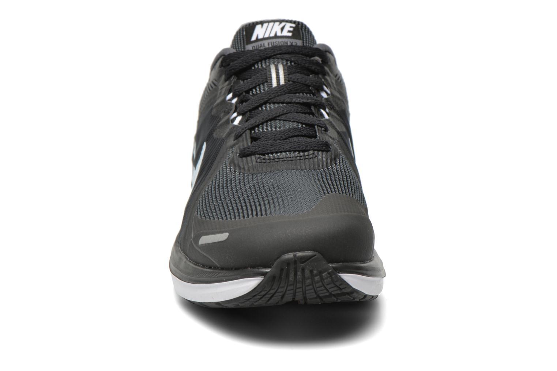 Chaussures de sport Nike Nike Dual Fusion X 2 Noir vue portées chaussures