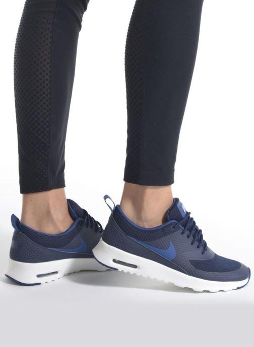 Sneaker Nike W Nike Air Max Thea Txt blau ansicht von unten / tasche getragen