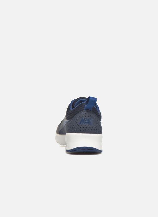 Deportivas Nike W Nike Air Max Thea Txt Azul vista lateral derecha
