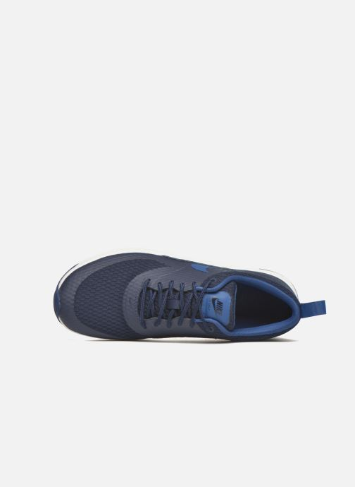 Deportivas Nike W Nike Air Max Thea Txt Azul vista lateral izquierda