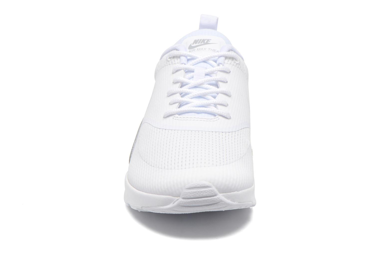 Baskets Nike W Nike Air Max Thea Txt Blanc vue portées chaussures