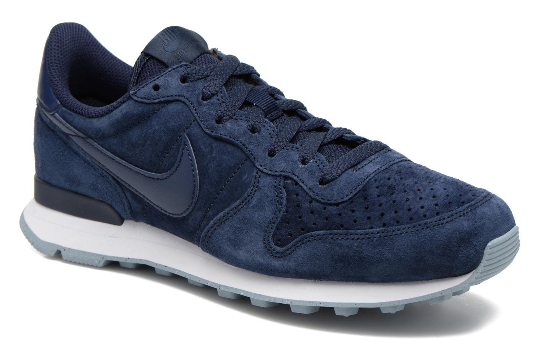 best service c8f92 8ba44 ... closeout sneakers nike nike internationalist prm blå detaljeret billede  af skoene 97657 f830f