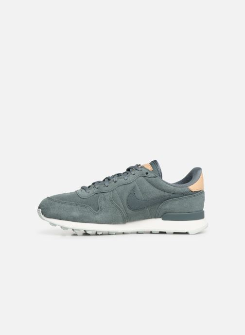 Baskets Nike W Internationalist Prm Vert vue face