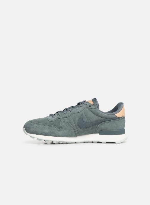 Sneaker Nike W Internationalist Prm grün ansicht von vorne