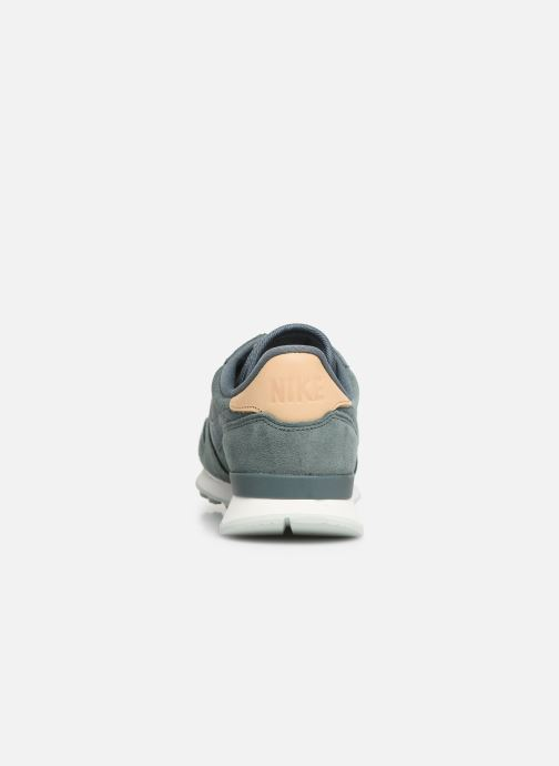 Baskets Nike W Internationalist Prm Vert vue droite