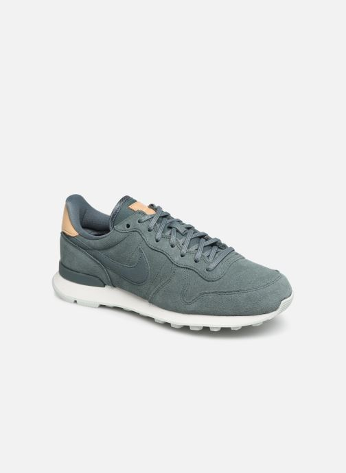 Baskets Nike W Internationalist Prm Vert vue détail/paire