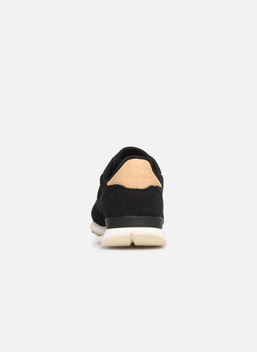 Sneaker Nike W Internationalist Prm schwarz ansicht von rechts