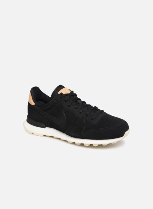 Sneakers Nike W Internationalist Prm Zwart detail